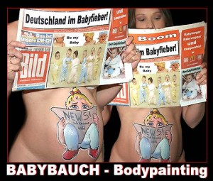 Bodypainting Bodypaint Babyauch