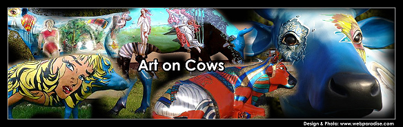 artoncows, art on cows, kuhskulpturen, Großfiguren, Figuren für Outdoor, Kuhfiguren, Bemalung von Figuren